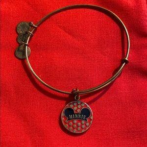 Disney Alex and Ani Minnie ears bracelet!
